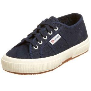 Navy Superga Toddler Sneakers